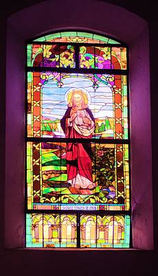 Photograph - Stained Glass Window 4 by Douglas Pike