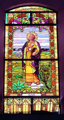 Photograph - Stained Glass Window 5 by Douglas Pike