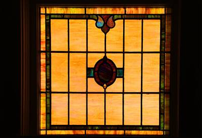 Photograph - Stained Glass Window by Kathryn Meyer