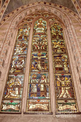 Photograph - Stained Glass Window  by Michelle Meenawong