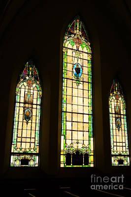 Stainglass Window Photograph - Stainglass Windows by Tina McKay-Brown