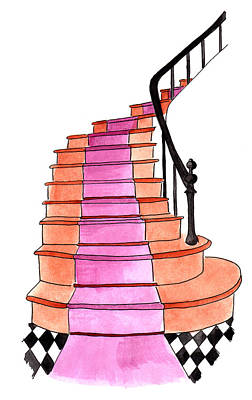 Painting - Staircase by Anna Elkins