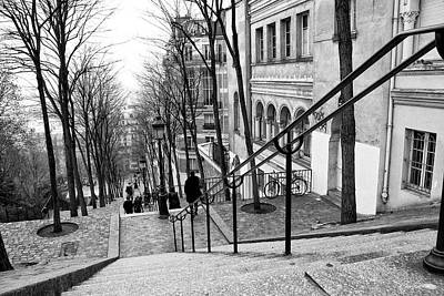 Photograph - Staircase At Montmartre by Diana Haronis