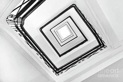 Rotating Photograph - Staircase by Delphimages Photo Creations