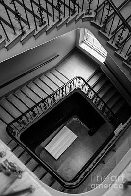 Staircase Photograph - Staircase by Edward Fielding
