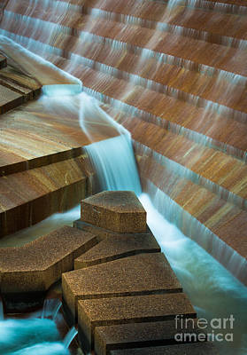 Staircase Photograph - Staircase Fountain by Inge Johnsson