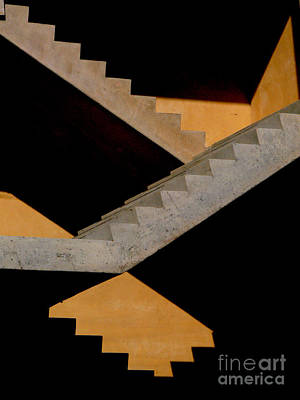 Photograph - Staircase by Guntis Lauzums
