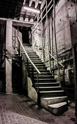 Photograph - Staircase Havana Cuba by Joan Carroll