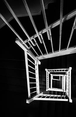 Photograph - Staircase I by Marzena Grabczynska Lorenc