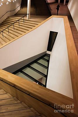 Staircase In Elbphiharmonic Art Print