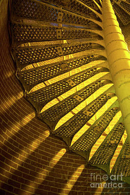 Photograph - Staircase Light 2014 by John Rizzuto