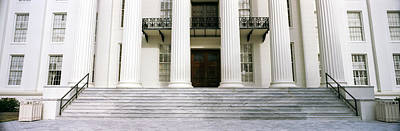 Staircase Of A Government Building Art Print by Panoramic Images