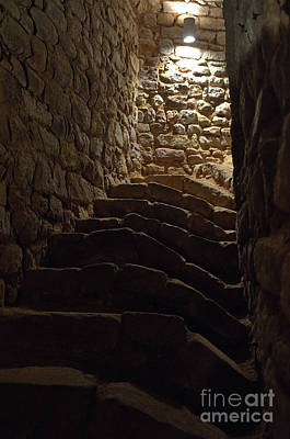 Staircase Photograph - Staircase Of The Moorish Cistern-well In The Castle Of Silves by Angelo DeVal