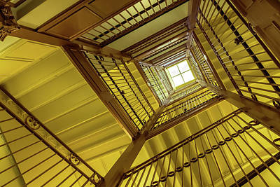 Photograph - Staircase Of The Old Capitol 1 by Jonathan Nguyen