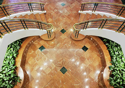 Photograph - Staircase by Rudy Umans