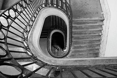 Photograph - Staircase Spot On  by Bruno Rosa