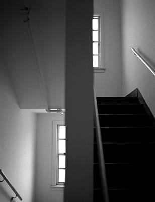 Staircase View Art Print by Matthew Altenbach