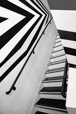 Photograph - Stairs And Stripes by Nikolyn McDonald