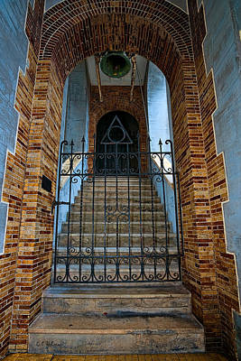 Photograph - Stairs Beyond by Christopher Holmes