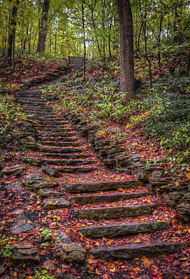 Photograph - Stairs by Brad Bellisle