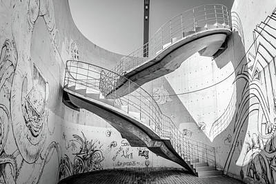 Photograph - Stairs Cartagena by Gary Gillette