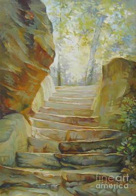 Stairs Original by Elena Oleniuc