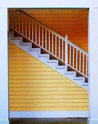 Stairs Art Print by Farol Tomson