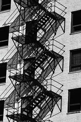 Photograph - Stairs by Jay Stockhaus