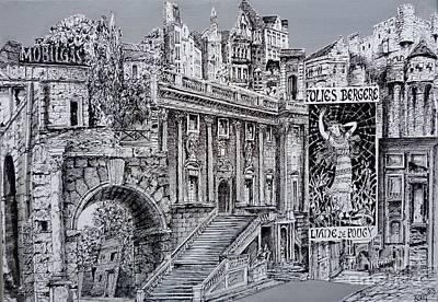 Architectur Drawing - Stairs by Koenraad De Weerdt