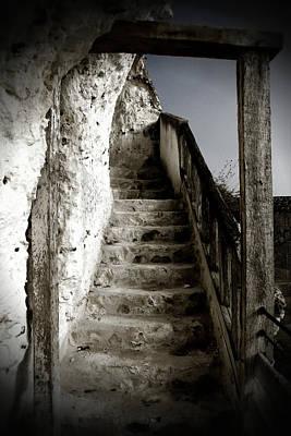 Photograph - Stairs La Roche Guyon by Hugh Smith