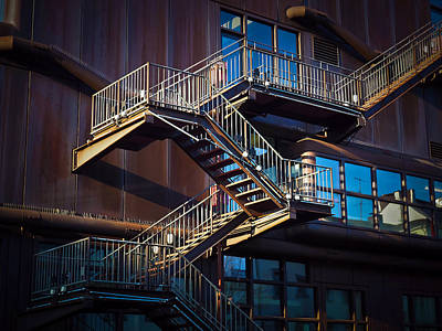Photograph - Stairs by Michael Gaida