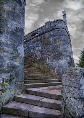 Photograph - Stairs Of Stone by Steve McKinzie