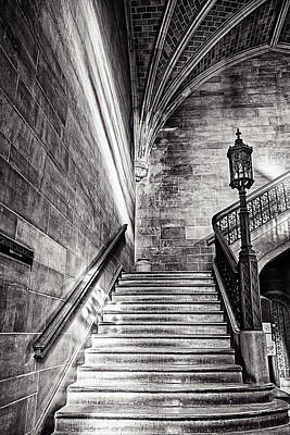 Stairs Of The Past Art Print