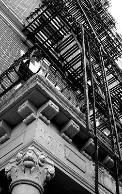 Fireescape Photograph - Stairs by Oksana Pelts
