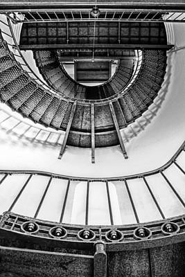 Photograph - Stairs - Piedras Blancas Light  by Nikolyn McDonald