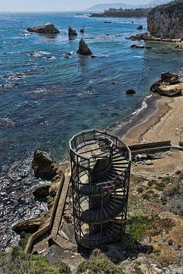 Pismo Beach Photograph - Stairs To Nowhere Pismo Beach by Priya Ghose