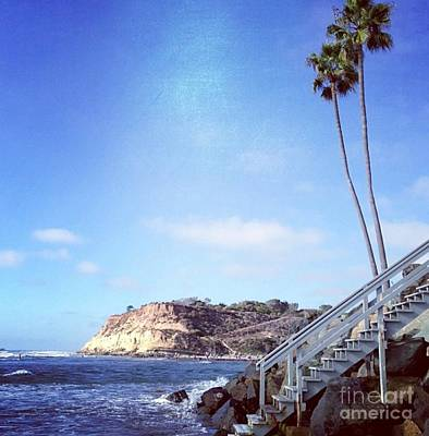 Photograph - Stairs To The Pacific by Denise Railey