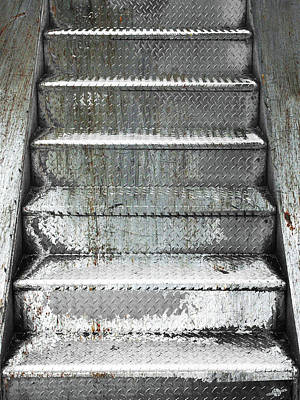 Mixed Media - Stairs by Tony Rubino