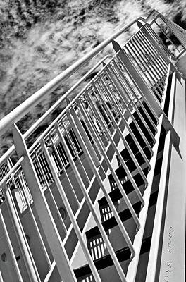 Photograph - Stairs Up by Brian Sereda