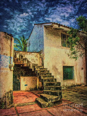 Photograph - Stairway  ... by Chuck Caramella