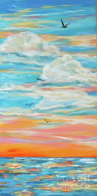 Painting - Stairway 1 by Linda Olsen