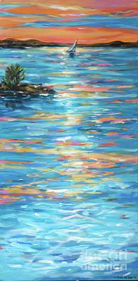 Painting - Stairway 4 by Linda Olsen