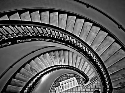 Stairway Abstract Original