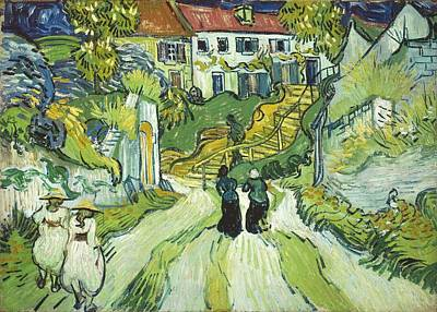 Painting - Stairway At Auvers by Artistic Panda