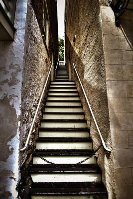 Photograph - Stairway by Daniel Houghton