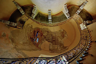 Photograph - Stairway Ellipse - Scala Ellisse by Enrico Pelos