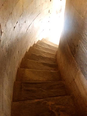 Photograph - Stairway From Heaven by Steven Robiner