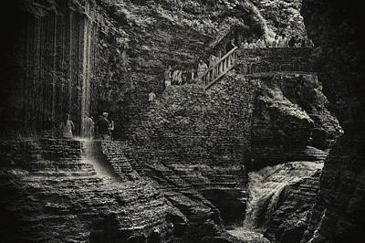 Photograph - Stairway In The Glen by Marvin Borst