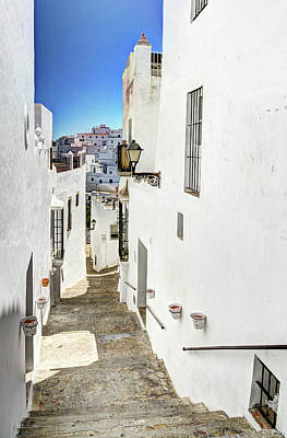 Photograph - Stairway In Vejer by Weston Westmoreland