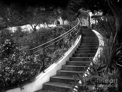 Emotionless Photograph - Stairway Into Gothic Fairy Tale by Sofia Goldberg